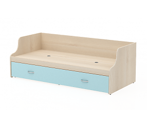 СЛИМПИ - кровать нижняя (СП005/16/СП005/2)