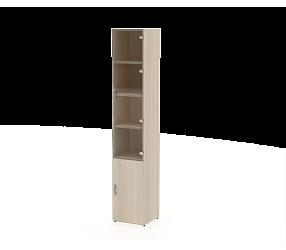 СЛИМ ПРАКТИК - шкаф-витрина (СП902ДС)