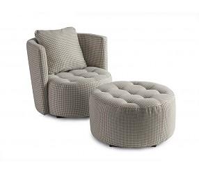 ASTON - кресло нераскладное с пуфом