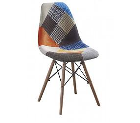 AMY patchwork A - стул деревянный