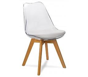 FIORD прозрачный - стул пластиковый