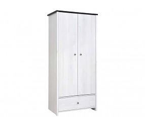 ПОРТО - шкаф платяной (SZF2D1S)