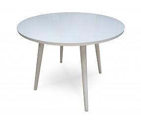 НОРД - стол обеденный стеклянный (900) нераскладной
