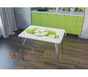 ЯБЛОКИ - обеденный стол с фотопечатью