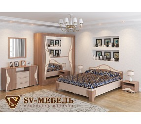 ЛАГУНА 5 - коллекция для спальни