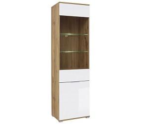 ЗЛАТА - шкаф-витрина (REG1W1D)