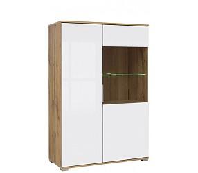 ЗЛАТА - шкаф-витрина (REG1W1D90)