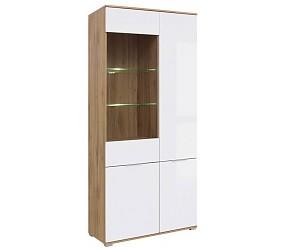 ЗЛАТА - шкаф-витрина (REG1W3D)