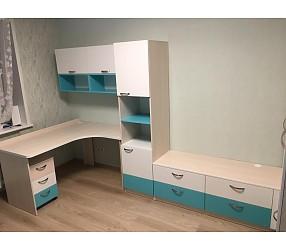 ДЕТСКАЯ И ПОДРОСТКОВАЯ - мебель по эскизам, установка: Костюковка, ул.Беляева 5