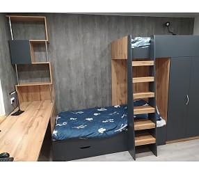 ДЕТСКАЯ И ПОДРОСТКОВАЯ - мебель по эскизам, установка: Гомель, ул.Дубравная 5