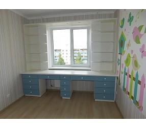 ДЕТСКАЯ И ПОДРОСТКОВАЯ - мебель по эскизам, установка: Гомель, ул.Пенязькова 49