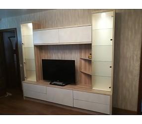 ГОСТИНАЯ - мебель по эскизам, установка: Гомель, ул.Бочкина 186