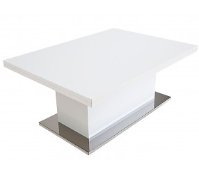 SLIDE белый глянец - Стол-трансформер