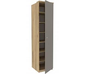 ФИДЖИ - шкаф с полками одностворчатый