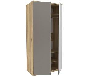 ФИДЖИ - шкаф комбинированный двухстворчатый с зеркалом