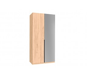 НОРД - шкаф двухстворчатый комбинированный