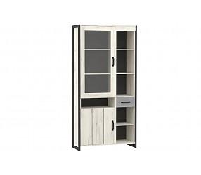 ТЕХНО - шкаф двухстворчатый комбинированный