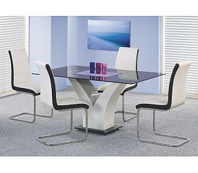 VESPER - стол стеклянный