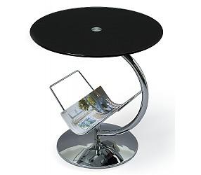 ALMA black - стол журнальный