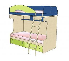 МИА - кровать двухъярусная