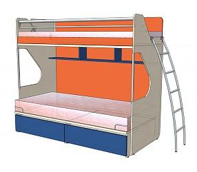 СИЛУЭТ - кровать двухъярусная