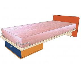 СИЛУЭТ - кровать прямая (900х2000)