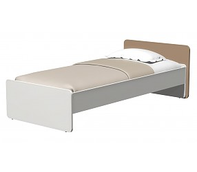 СИЛУЭТ - кровать прямая (СФ-268603+СФ-266810)