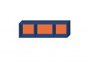 СИЛУЭТ - шкаф навесной открытый (СФ-266304)