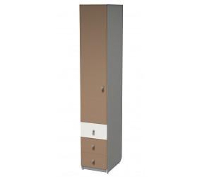 СИЛУЭТ - шкаф-пенал гардеробный с ящиками (СФ-264105)