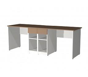 СИЛУЭТ - стол двойной (СФ-267218)