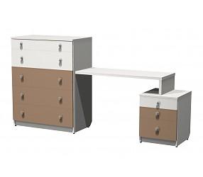 СИЛУЭТ - стол туалетный с комодом (СФ-267517)