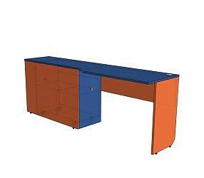 СИЛУЭТ - стол с тумбой