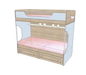 ВЕРЕС - кровать двухъярусная