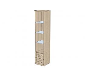 ВЕРЕС - шкаф-пенал открытый с ящиками (СФ-394114)