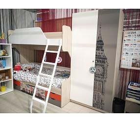 ГЕО ЛОНДОН - коллекция для детских и молодежных комнат