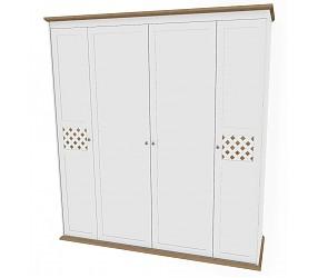 АДЕМИ - шкаф гардеробный (123H005)