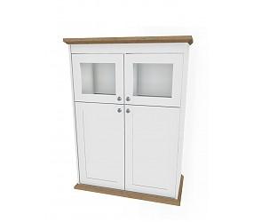 АДЕМИ - шкаф-витрина (125H013)