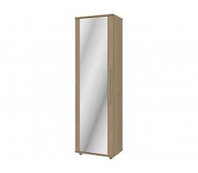 АЛИСА - шкаф с полками с зеркалом (33H001+33H111)