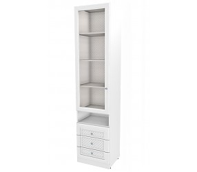 БЕЛОСНЕЖКА - шкаф-стеллаж (93H043)