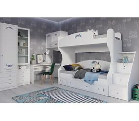 БЕЛОСНЕЖКА - коллекция для детских и молодежных комнат