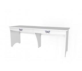 БЕЛОСНЕЖКА - стол для 2-х детей (93S012)