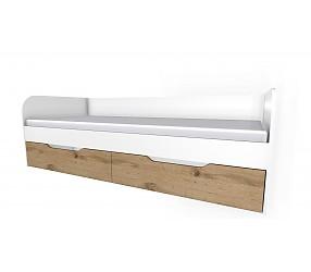 БРАУНИ - кровать с ящиками (90К023+90К0232)