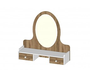 БРАУНИ - надставка с зеркалом (118P001)