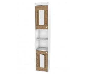 БРАУНИ - шкаф-стеллаж с фасадами (118H002 + 118H0023)