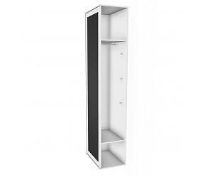 БРАУНИ - шкаф-окончание с зеркалом и доской для рисования (118Н011)