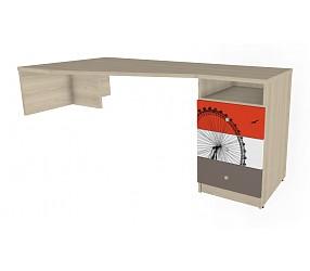 ГЕО ЛОНДОН - стол с опорой на тумбу (92B003)