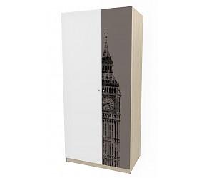 ГЕО ЛОНДОН - шкаф комбинированный (92H029)