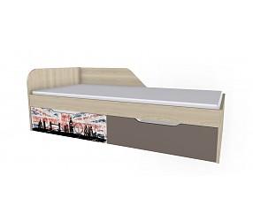 ГЕО ЛОНДОН - кровать (92К013)