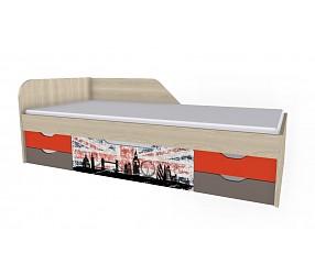 ГЕО ЛОНДОН - кровать (92К025)