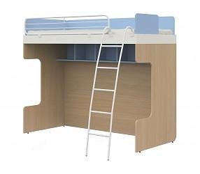 СОЛНЕЧНЫЙ ГОРОД - кровать двухъярусная с металлической лестницей